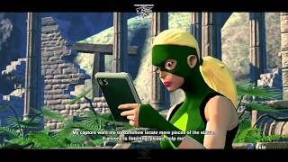 Young Justice Legacy Walkthrough Part 1 Gameplay Film Scenes