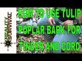Survival Quick Tip: How To Use Tulip Poplar Bark For Tinder And Cordage