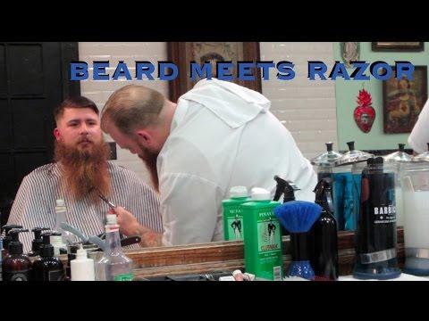 Beard Meets Razor