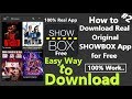 How to download Showbox 2019 #2 | How to install SHOWBOX #2 | Free Movies | New Movies