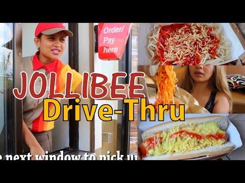 JOLLIBEE Drive-Thru PHILIPPINES Experience/MUKBANG