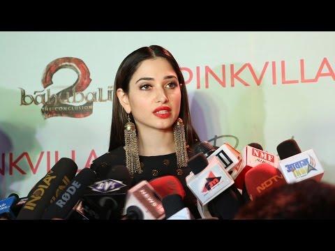 Tamannaah Bhatia FULL INTERVIEW   Baahubali 2 Fashion Show