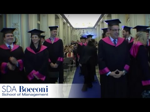 Graduation Ceremony - Global Executive MBA 2010 | SDA Bocconi
