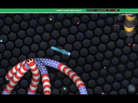 Онлайн Игра червячки.