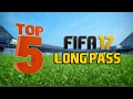 TOP 5 LONG PASSES IN FIFA 17!! (Dominate Quick and Counter Attack)