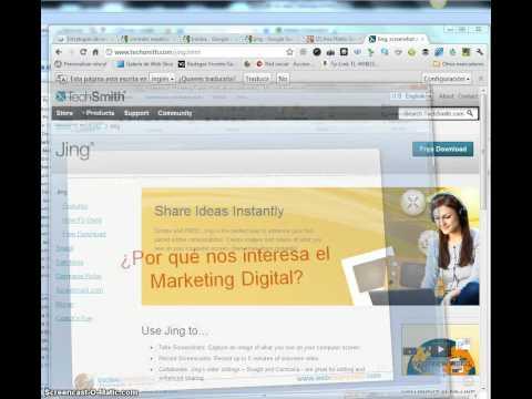 Screencast en español: tutorial