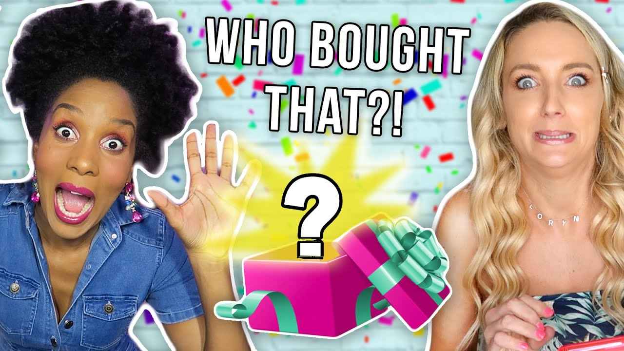 Guessing Who Bought Our Mystery Birthday Gifts!!