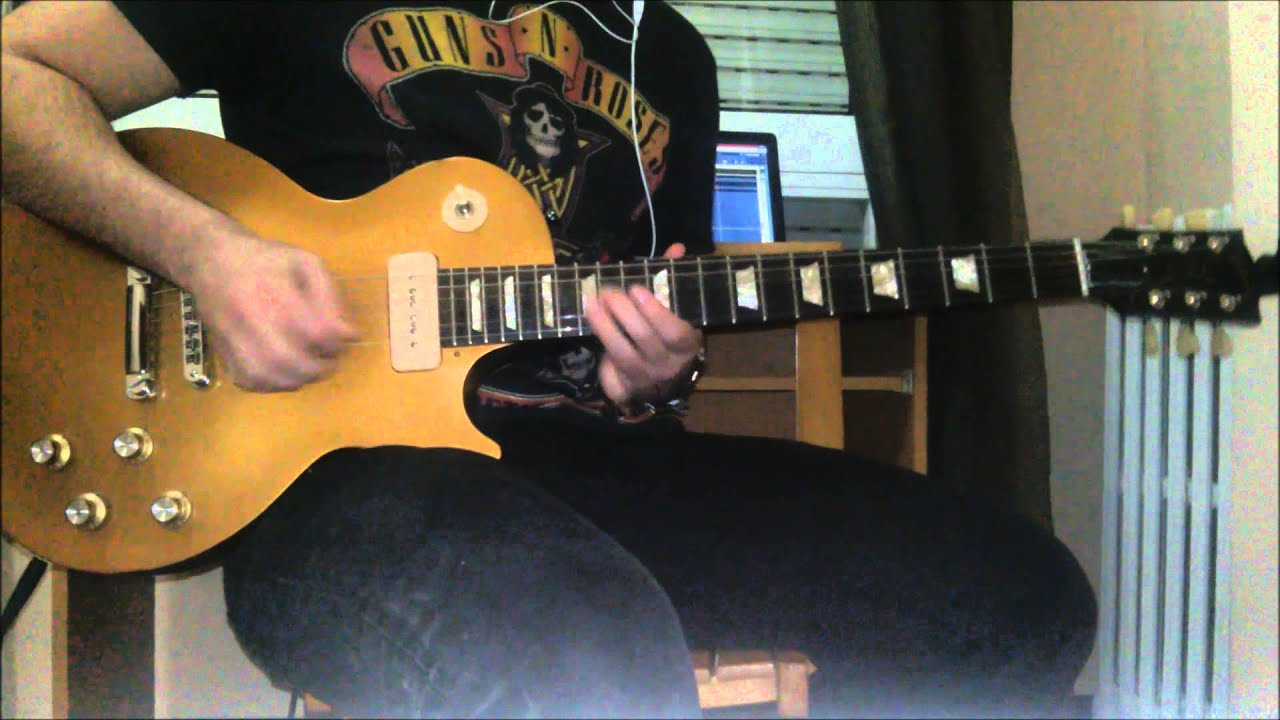 Guns and Roses - Knocking on heavens door solo (guitar ...