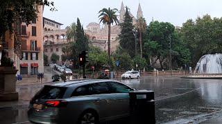 Lluvias en Palma
