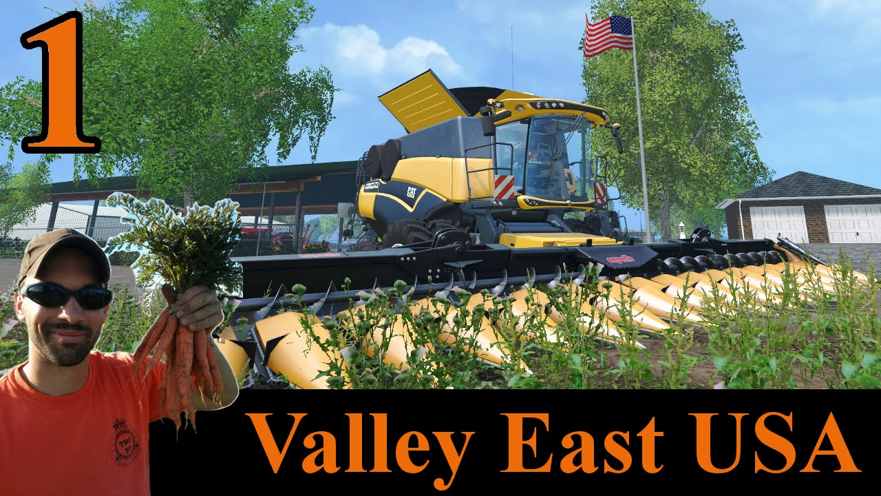 Farming Simulator Valley East USA E It Begins YouTube - Us farming map