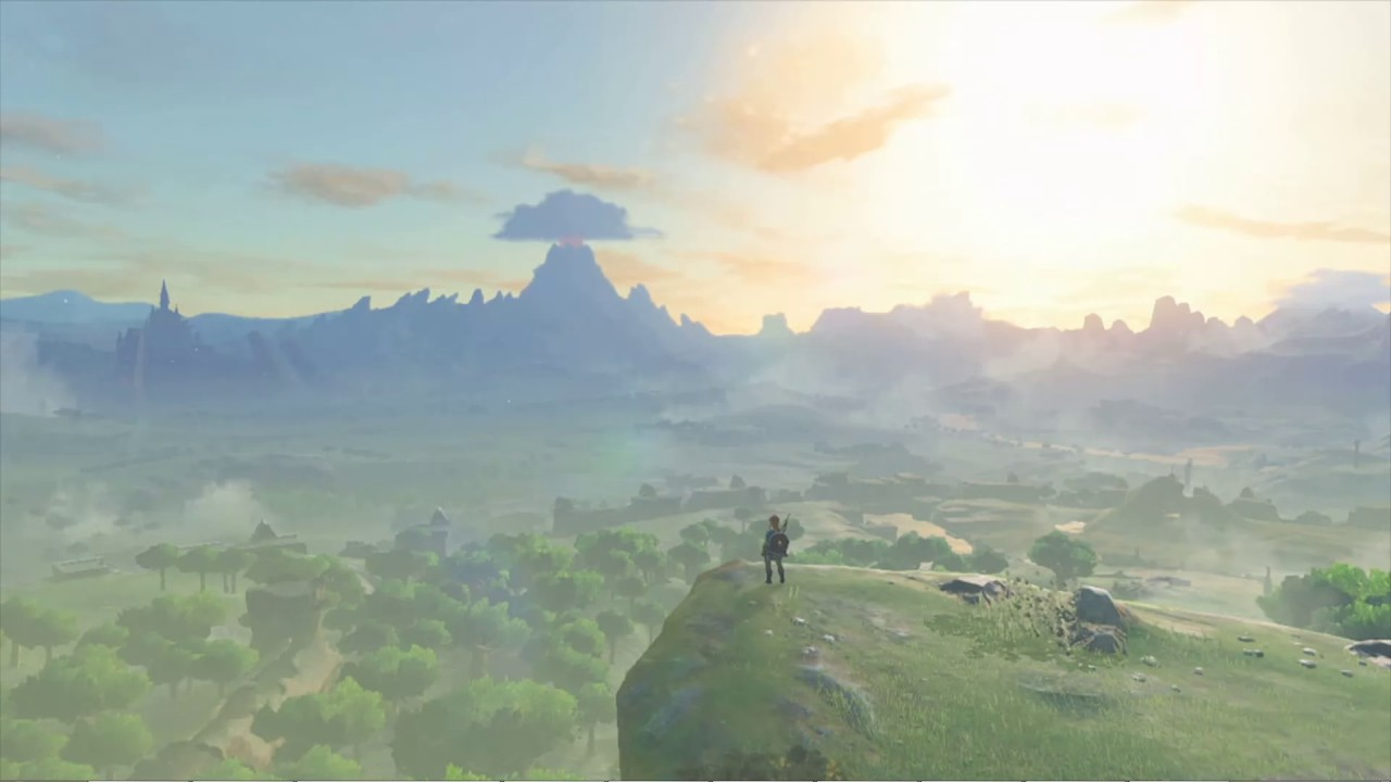 Zelda Breath Of The Wild For Wallpaper Engine Links Youtube