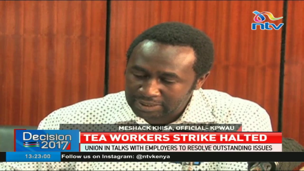 Tea workers union in talks with employer to resolve pending issues