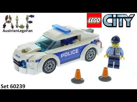 Lego City 60239 Police Patrol Car Speed Build Youtube