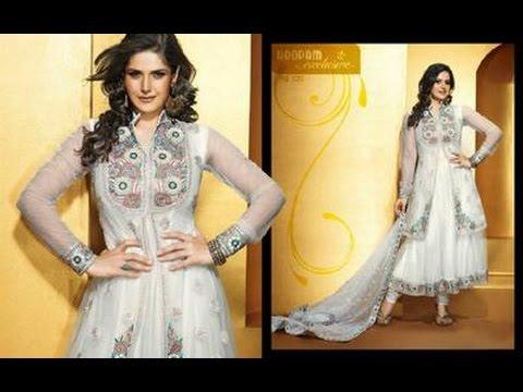Anarkali Fancy Frocks Indian Pakistani  Frocks New Latest Dress Designs Collection 2017