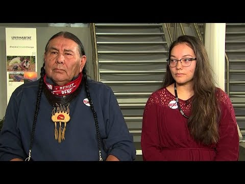 """Tom Goldtooth: Carbon Trading is """"Fraudulent"""" Scheme to Privatize Air & Forests to Permit Pollution"""