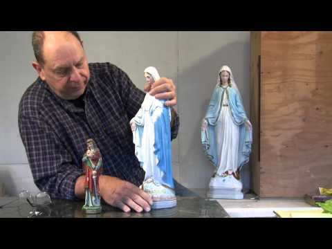 Thumbnail: Statuary Restoration - Reassembling, Fixing, Patching, and Painting Broken Statues and Figurines
