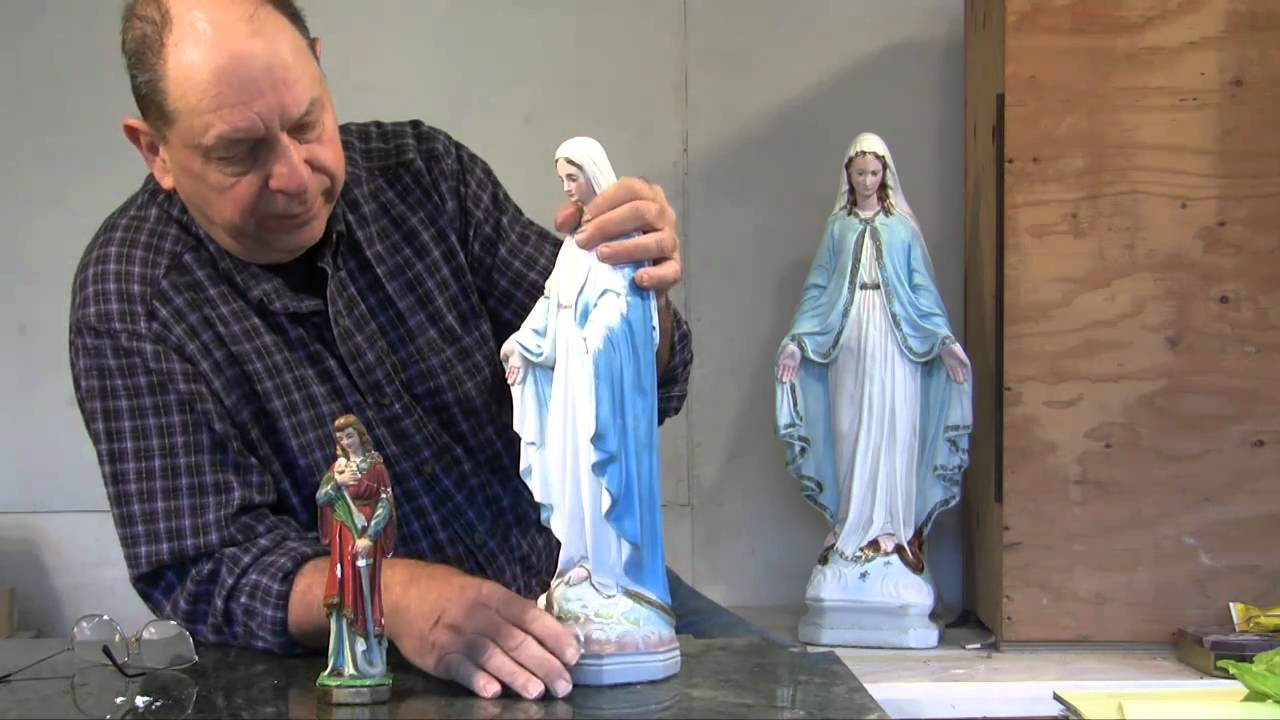 How to Paint Plaster Figurines