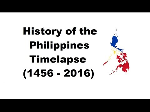 History of the Philippines - Timelapse (1456 - 2016)