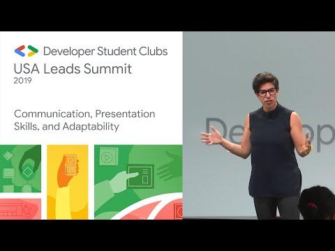 Communication, presentation, skills, and adaptability  - Sunnyvale DSC Summit '19