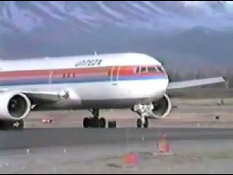 Anchorage International Airport spring of 87