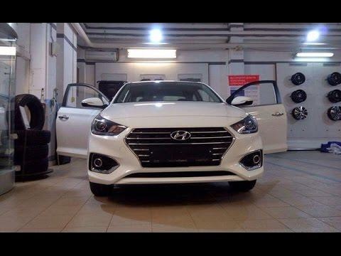 Обзор на новый Хендай Солярис 2017.Hyundai Solaris 2017