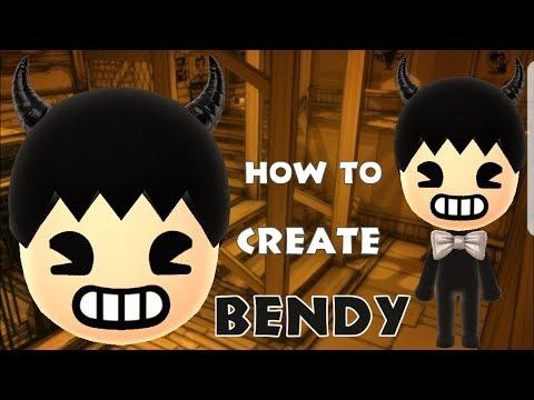 Mii Maker: How To Create Bendy!