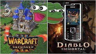 Remaster WARCRAFT III i DIABLO 3 na KOMÓRKI? - BlizzCON 2018