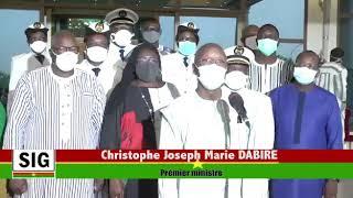 Covid19 - Le Premier Ministre du Nurkina Faso, Christophe Marie Joseph DABIRE, rencontre les gouverneurs des régions