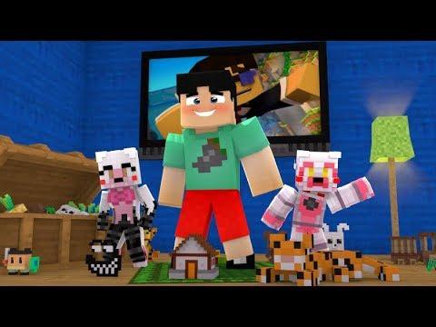 MANGOTANGO VISITS THE DAYCARE!!! (Minecraft Fnaf Daycare)