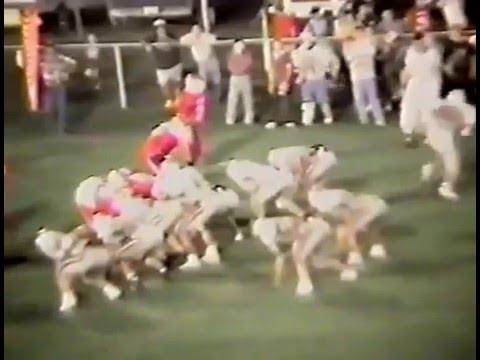 1991 Siloam Springs Panthers at Stilwell Indians Football