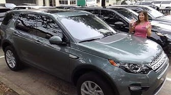 2017 Land Rover Discovery Sport Windshield Replacement Features