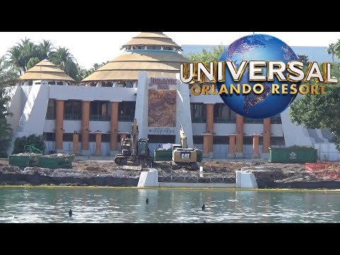 Universal Orlando February 2019 Update with The Legend