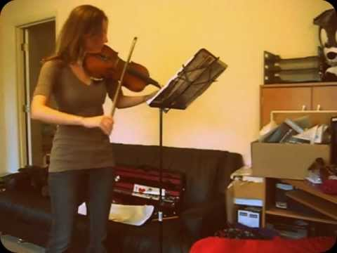 Last of the Mohicans- The Kiss Violin Cover!!
