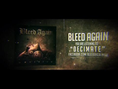 Bleed Again // Decimate [Lyrics Video]