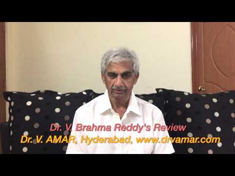BARIATRIC SURGERY: MY DAD, Dr. V. BRAHMA REDDY'S REVIEW (TELUGU) – Dr. V. AMAR, www.drvamar.com