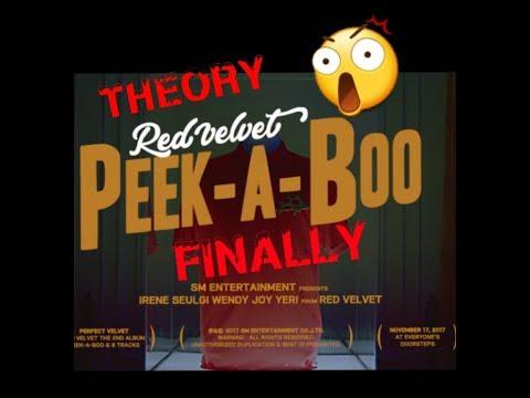 Red Velvet Peek-A-Boo THEORY MV