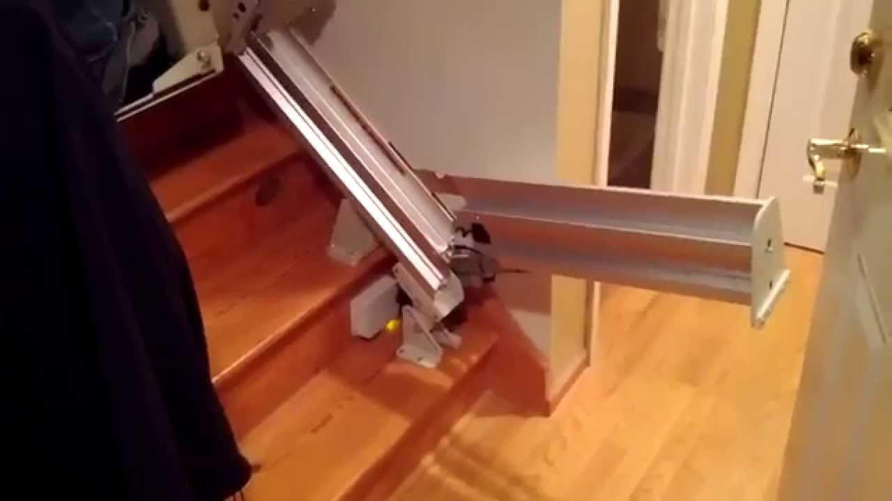 Bruno Elite Stair Lift  Full Power Options  YouTube