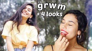 grwm // glowy & glam makeup tutorial | Ava Jules