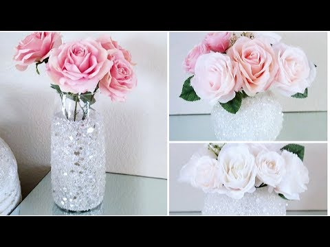 HOW TO MAKE 3 GLAM SPRING DECOR IDEAS | 3 EASY HOME DECOR DIYS FOR SPRING 2019