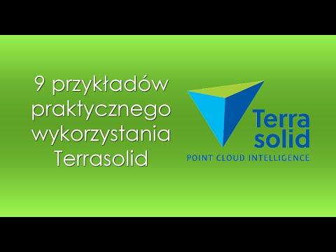 9 przykładów praktycznego wykorzystania Terrasolid
