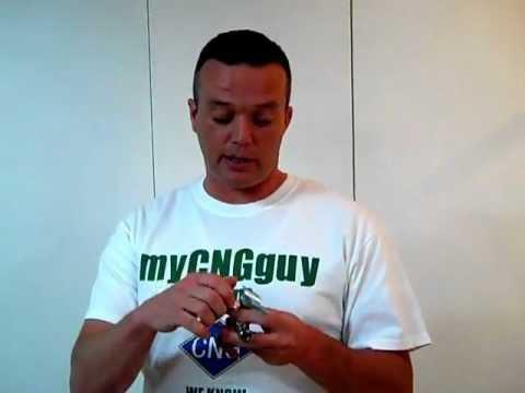CNG fill nozzles