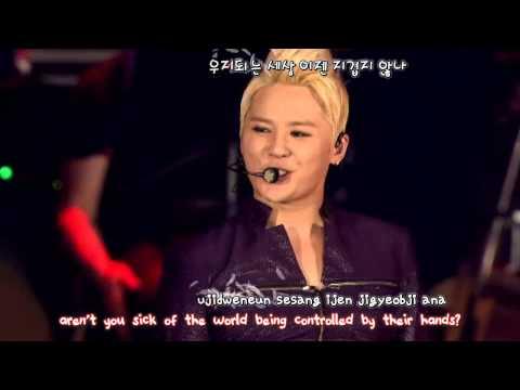 Kim Junsu 김준수 - Tarantallegra (2013 Concert in Tokyo Dome) [eng + rom + hangul + karaoke sub]