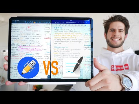 Notability vs Goodnotes 5 - The Best iPad Note Taking App (2019) | KharmaMedic