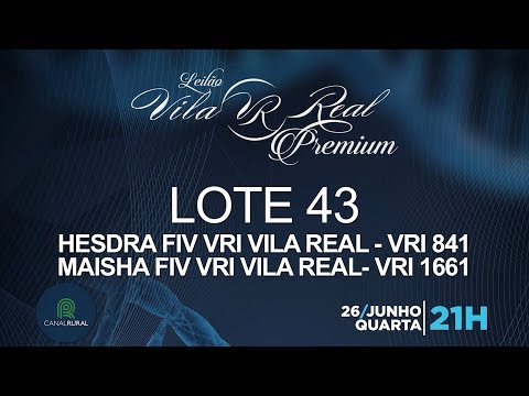 LOTE 43 (VRI 841/VRI 1661)