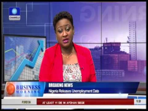 Business Morning: Nigeria Releases Unemployment Data Pt 2