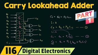Carry Lookahead Adder (Part 2) | CLA Adder