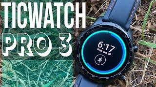 Ticwatch Pro 3 GPS - In-Depth Running/Fitness Review - The BEST Apple Watch Alternative?