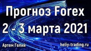 Прогноз форекс на 2 3 марта 2021