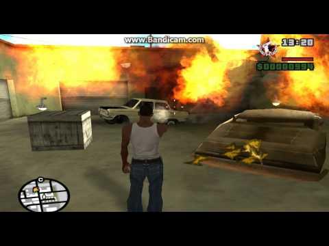 Прохождение игры гта сан андрес Миссия6-Пистолеты и АК