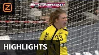 Ziggo Sport | Nederland - Frankrijk | Kwartfinale | Highlights | WK Handbal
